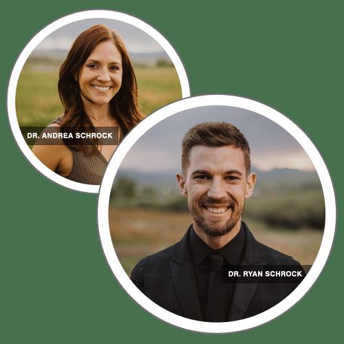 Chiropractors Louisville CO Ryan Schrock and Andrea Schrock